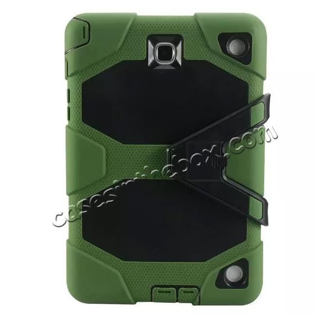 wholesale ShockProof Protect Case Cover With Stand For Samsung Galaxy Tab A 9.7 T550 - Army green
