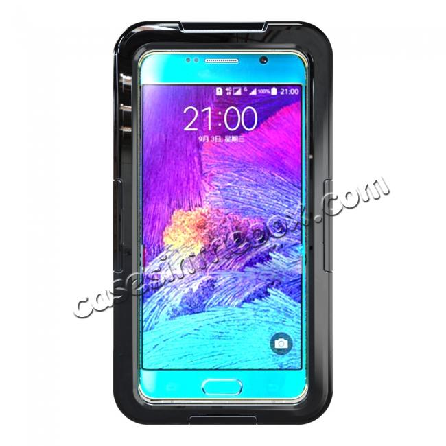 discount 100% Waterproof Shockproof Dirt Proof Durable Case For Samsung Galaxy Note 5 - Black