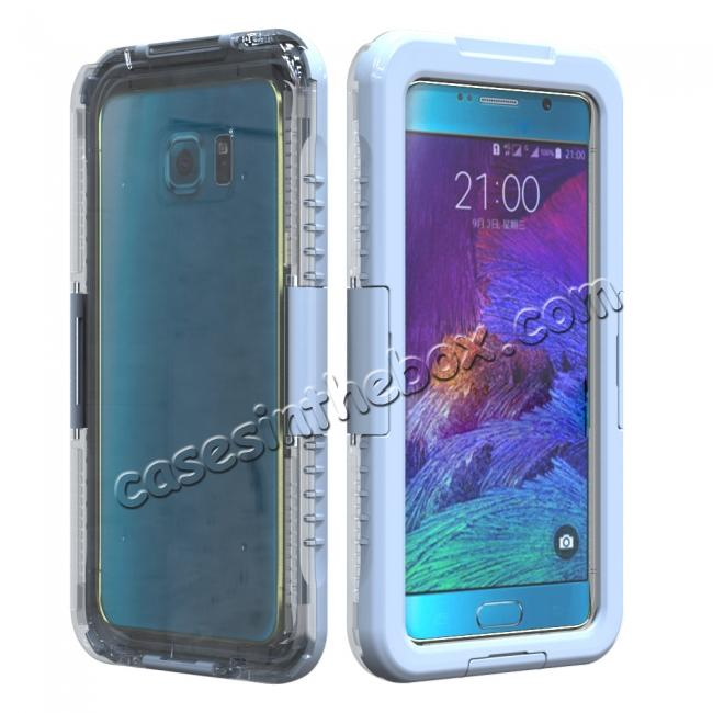 wholesale 100% Waterproof Shockproof Dirt Proof Durable Case For Samsung Galaxy Note 5 - White
