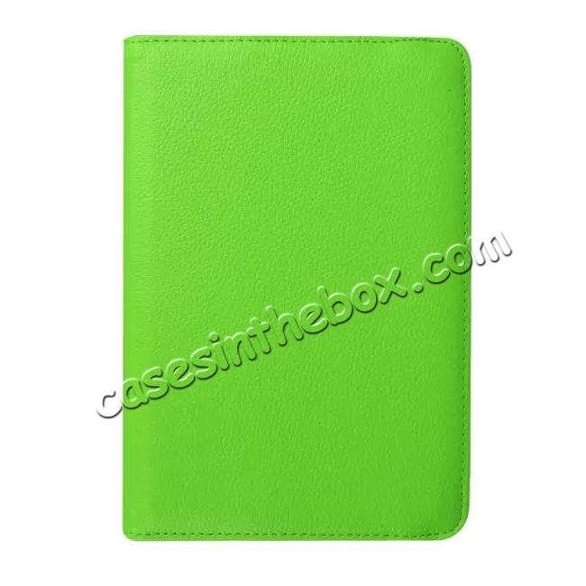 high quanlity 360 Degree Rotating Leather Smart Case For Samsung Galaxy Tab S2 9.7 T815 - Green