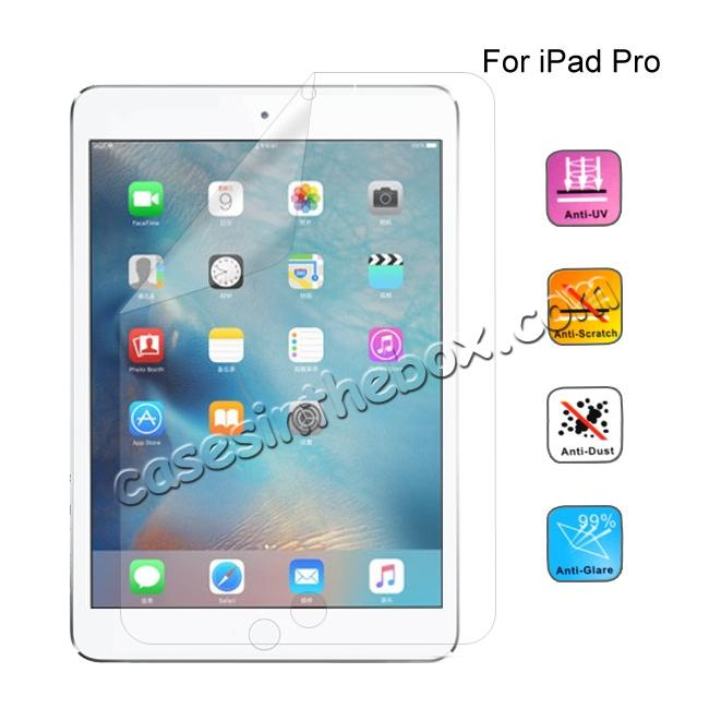 wholesale HD Clear Crystal Transparent Screen Protector Film Guard For iPad Pro 12.9inch