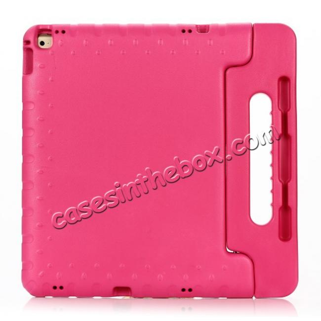 discount EVA Foam ShockProof Case Stand Cover w/Handle For iPad Pro 12.9 - Hot pink