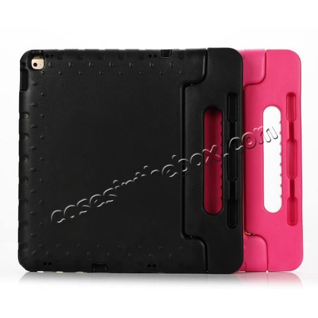 best price EVA Foam ShockProof Case Stand Cover w/Handle For iPad Pro 12.9 - Hot pink