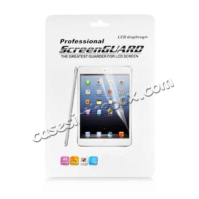 top quality Clear Crystal Transparent Screen Protector Film Guard For iPad Pro 9.7inch