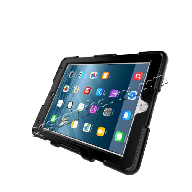 high quanlity Heavy Duty Hybrid Dual Layer Shockproof Armor Stand Cover Case For iPad Pro 9.7inch