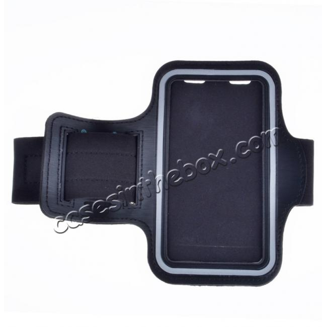 wholesale Neoprene Sport Running Armband Case for Samsung Galaxy S7 G930 - Black