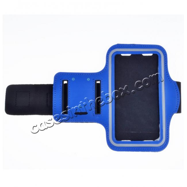 wholesale Neoprene Sport Running Armband Case for Samsung Galaxy S7 G930 - Blue
