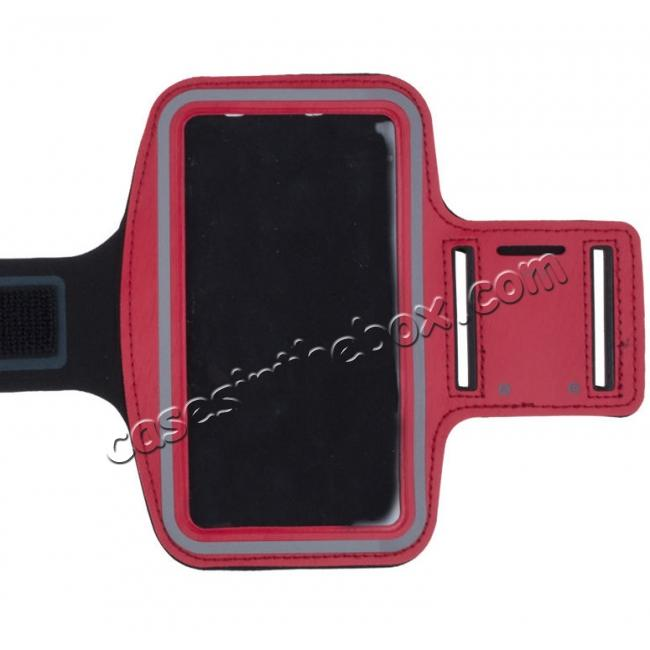 wholesale Neoprene Sport Running Armband Case for Samsung Galaxy S7 G930 - Red