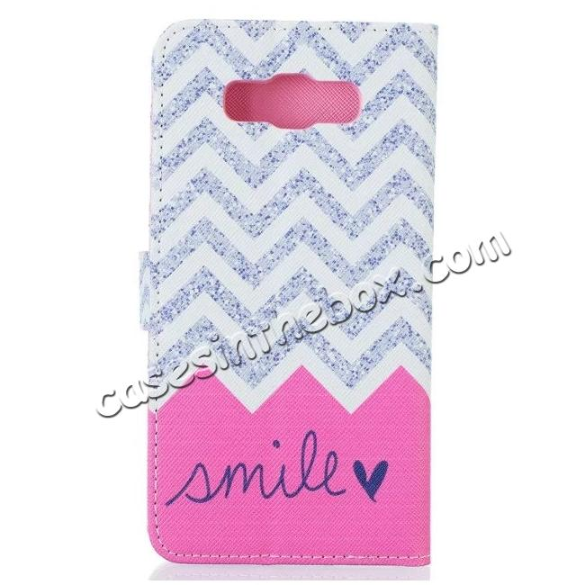 cheap Pattern wallet Leather stand cover case For Samsung Galaxy J7 (2016) J710
