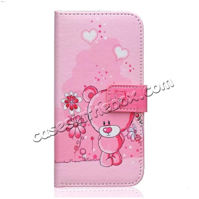 discount Patterned Magnetic PU Leather Card Wallet Flip Slot Stand Case For Samsung Galaxy S7