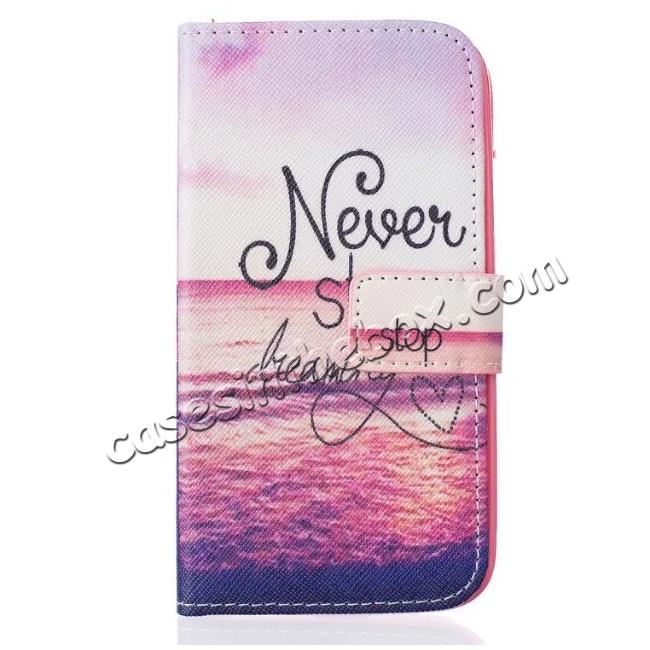 discount Patterned Wallet PU Leather Stand Phone Case Cover For Samsung Galaxy J1 (2016) J120