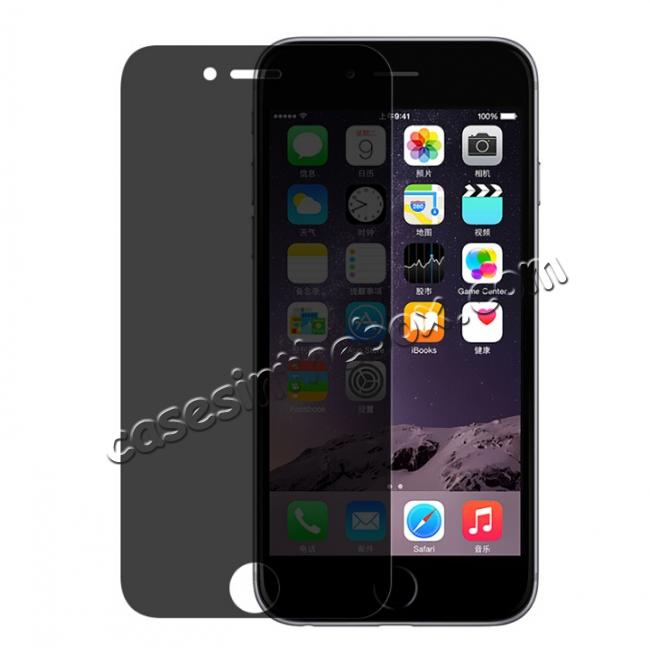 wholesale Privacy Anti-Spy Real Tempered Glass Screen Protector for iPhone 6 Plus/6s Plus 5.5inch