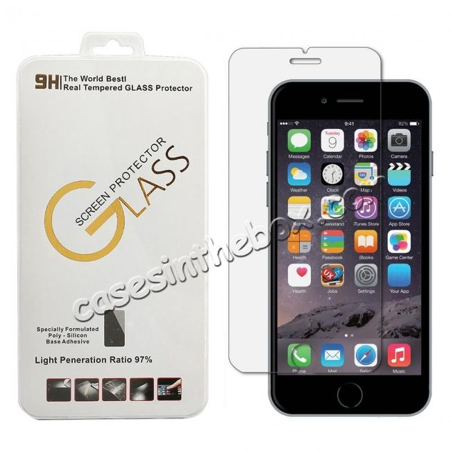 wholesale Premium HD Tempered Glass Screen Protector Film for iPhone 7 8 8 Plus X XS XR XS Max