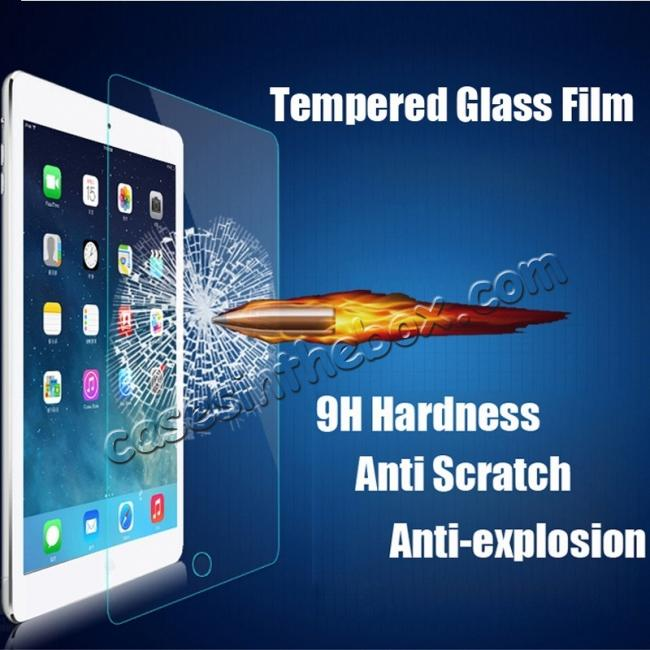 discount HD Tempered Glass Anti-Explosion Screen Protector Scratch-Resistant Film For iPad Pro 10.5 inch