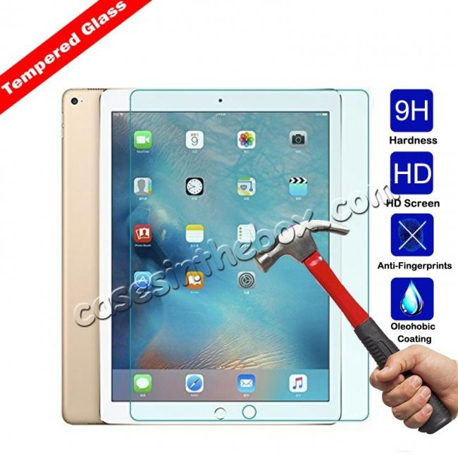 wholesale HD Tempered Glass Anti-Explosion Screen Protector Scratch-Resistant Film For iPad Pro 10.5 inch