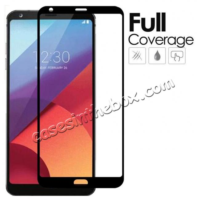 wholesale NEW Full Screen Coverage Anti-Scratch Tempered Glass Screen Protector for LG G6