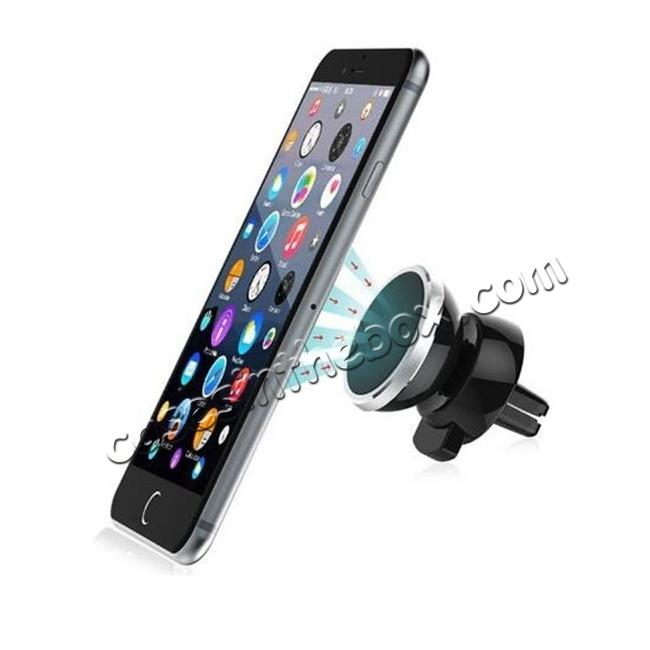 cheap Universal Air Vent Magnetic Car Mount Holder