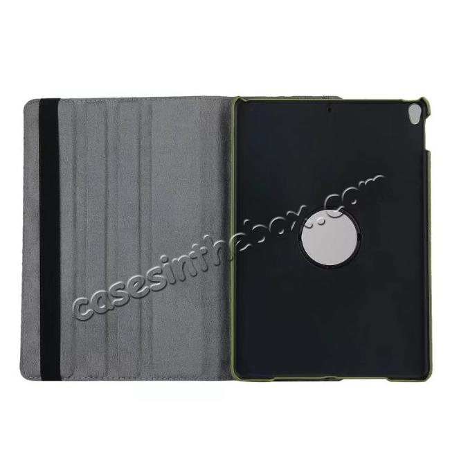 on sale 360 Rotating Mutil-angle Stand Leather Case For iPad Pro 10.5 inch - Camouflage