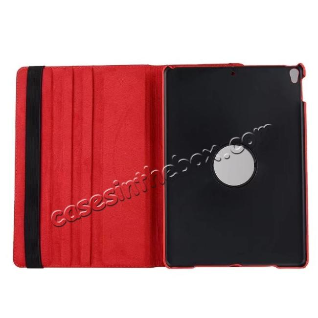 on sale Retro UK Flag Pattern 360 Degree Rotating Stand Leather Case for iPad Pro 10.5-inch