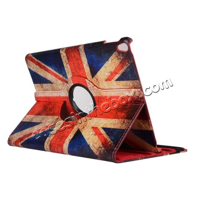 wholesale Retro UK Flag Pattern 360 Degree Rotating Stand Leather Case for iPad Pro 10.5-inch