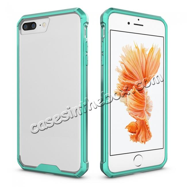 China leading wholesale Ultra Slim Acrylic Hard Cover TPU Bumper Hybrid Case For iPhone 7 / 7 Plus