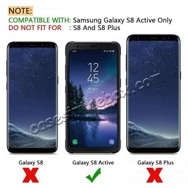 discount Highest Quality Premium Tempered Glass Screen Protector For Samsung Galaxy S8 Active