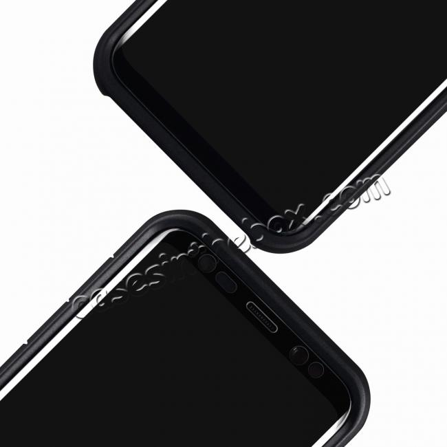 best price Privacy Anti-Spy Tempered Glass Screen Protector For Samsung Galaxy S8 / S8 Plus / S7 Edge - Black