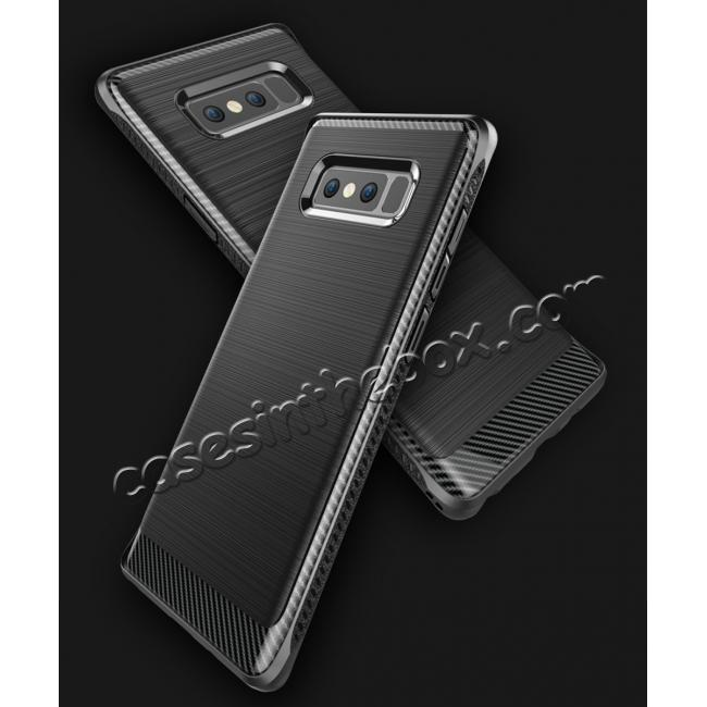 best price Shockproof Tough Brushed Texture Hybrid Armor Drop Protection Case For Samsung Galaxy Note 8