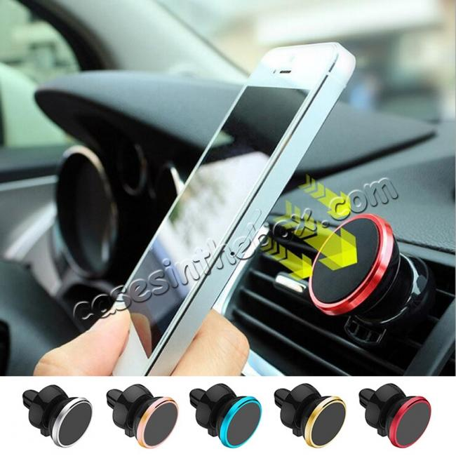 wholesale Universal Premium Magnetic Air Vent Car Mount Holder for Cell Phone / GPS