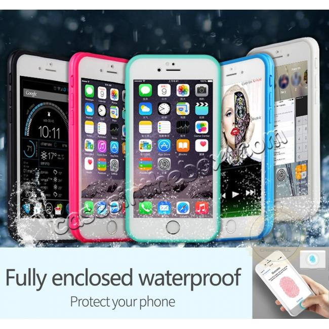 wholesale Waterproof Shockproof Hybrid Rubber TPU Phone Case Cover For iPhone 6s 7 8 Plus
