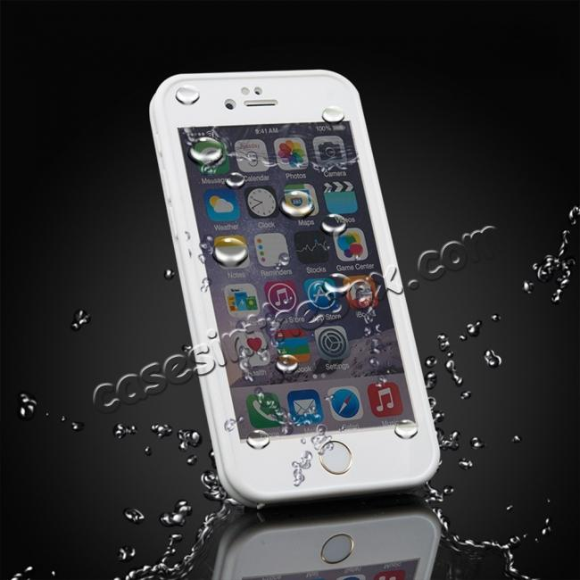 cheap Waterproof Shockproof Hybrid Rubber TPU Phone Case Cover For iPhone 6s 7 8 Plus