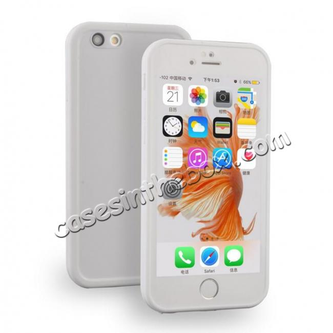 discount wholesale Waterproof Shockproof Hybrid Rubber TPU Phone Case Cover For iPhone 6s 7 8 Plus