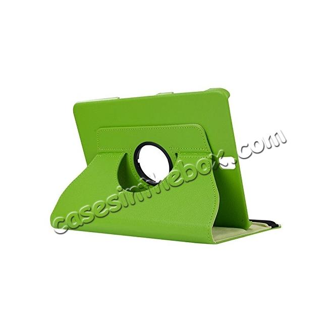 wholesale Slim Folio Stand PU Leather Case Cover Samsung Galaxy Tab S3 9.7 SM-T820 / SM-T825 - Green