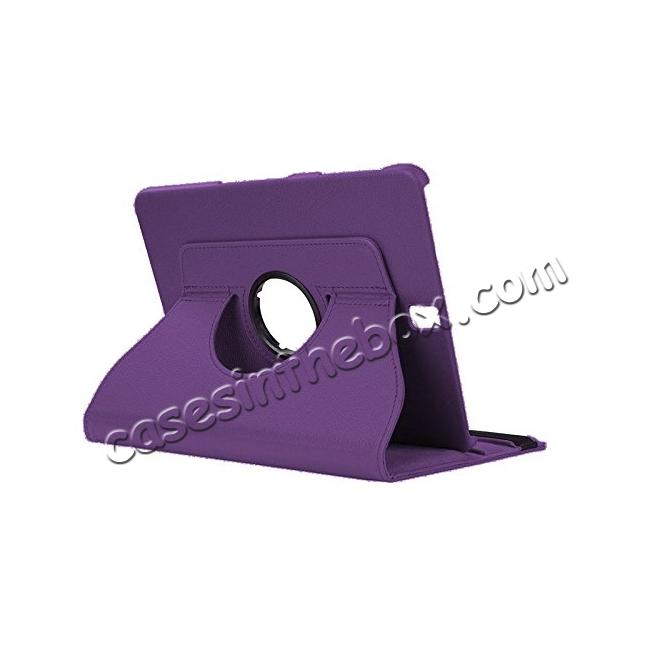 wholesale Slim Folio Stand PU Leather Case Cover Samsung Galaxy Tab S3 9.7 SM-T820 / SM-T825 - Purple