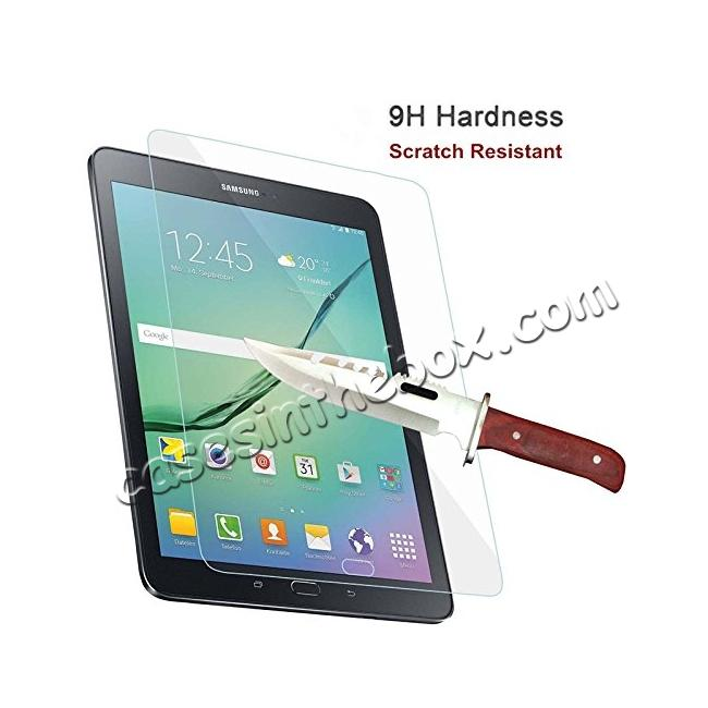 discount Tempered Glass 9H Hardness HD Clear Screen Protector for Samsung Galaxy Tab S3 9.7 T820/T825