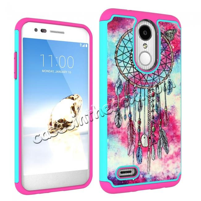 cheap Full Body Hybrid Dual Layer ShockProof Protective Case For LG Tribute Dynasty / Aristo 2 - Dream Catche