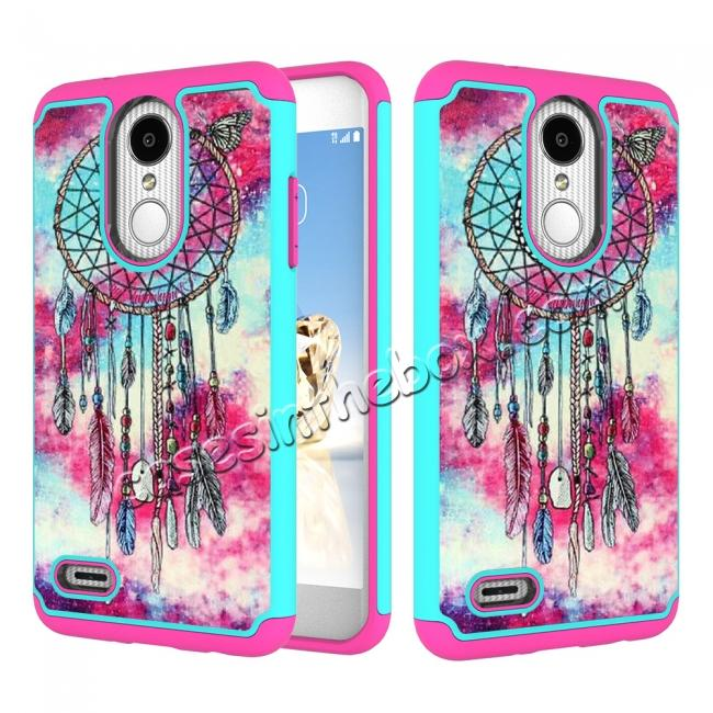 wholesale Full Body Hybrid Dual Layer ShockProof Protective Case For LG Tribute Dynasty / Aristo 2 - Dream Catche