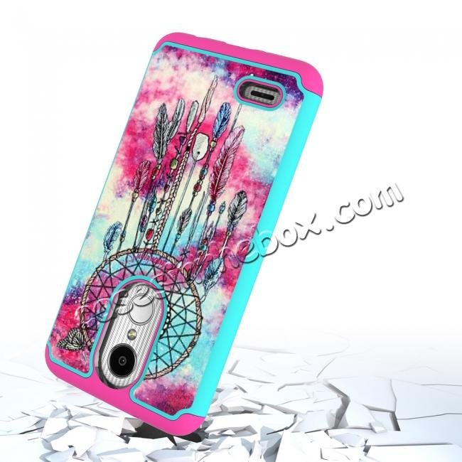 top quality Full Body Hybrid Dual Layer ShockProof Protective Case For LG Tribute Dynasty / Aristo 2 - Dream Catche