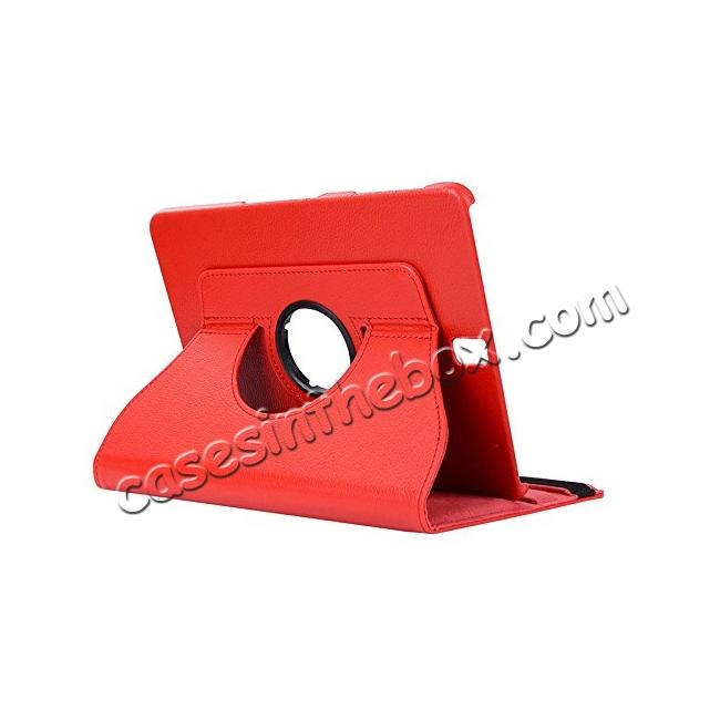 wholesale Slim Folio Stand PU Leather Case Cover Samsung Galaxy Tab S3 9.7 SM-T820 / SM-T825 - Red