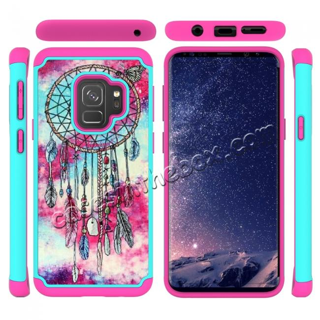 top quality Patterned Hard TPU Hybrid Shockproof Phone Case Cover For Samsung Galaxy S9 - Dream Catcher
