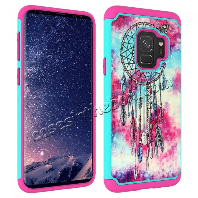 best price Patterned Hard TPU Hybrid Shockproof Phone Case Cover For Samsung Galaxy S9 - Dream Catcher