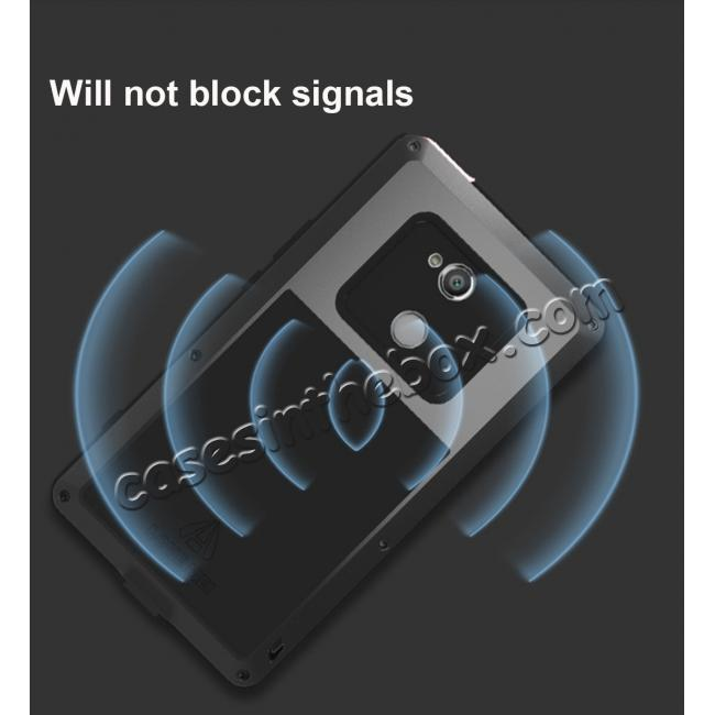 best price Aluminum Extreme Shockproof Weather Dust/Dirt Proof Resistant Case For Xperia XA2 Ultra - Black
