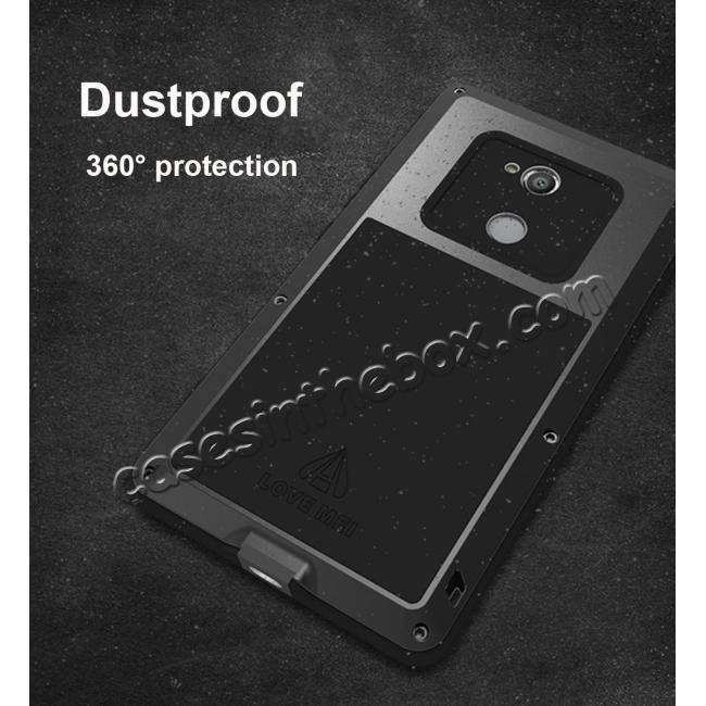 high quanlity Aluminum Extreme Shockproof Weather Dust/Dirt Proof Resistant Case For Xperia XA2 Ultra - Black