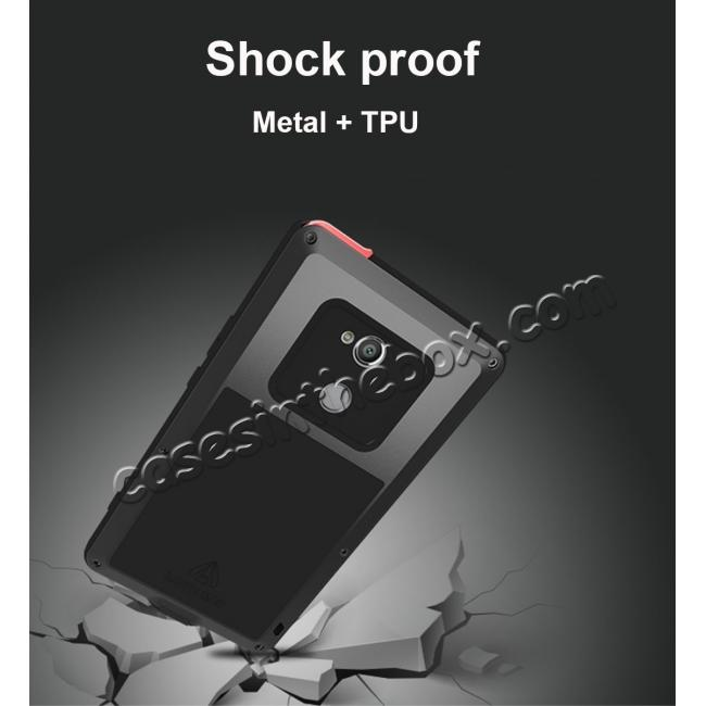 top quality Aluminum Extreme Shockproof Weather Dust/Dirt Proof Resistant Case For Xperia XA2 Ultra - Red