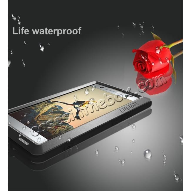 on sale Aluminum Extreme Shockproof Weather Dust/Dirt Proof Resistant Case For Xperia XA2 Ultra - Red