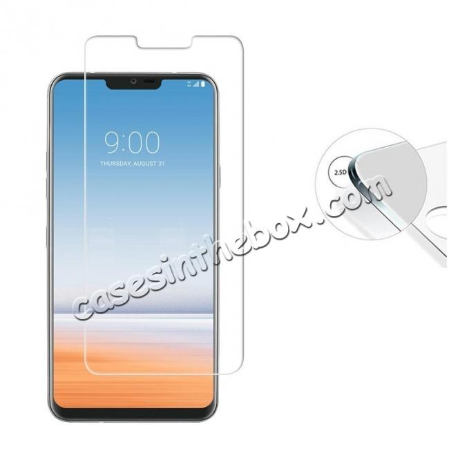 discount For LG G7 ThinQ Tempered Glass Screen Protector Front High Clear Film Bubble Free Protective Film