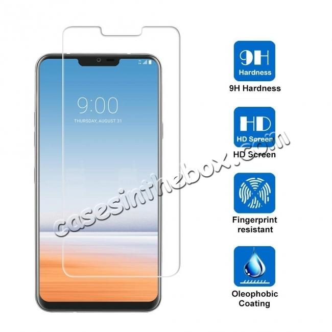 wholesale For LG G7 ThinQ Tempered Glass Screen Protector Front High Clear Film Bubble Free Protective Film