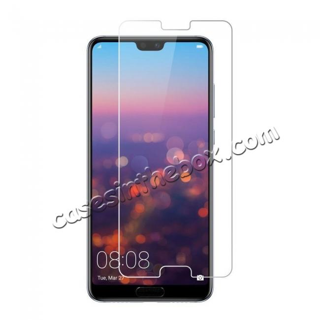 wholesale Tempered Glass Not Full Coverage HD Clear Glass Screen Protector for Huawei P20