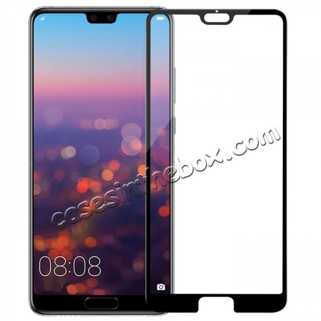 wholesale NLLKIN 3D CP+ MAX Full coverage Anti-explosion Tempered Glass Screen Protector for Huawei P20