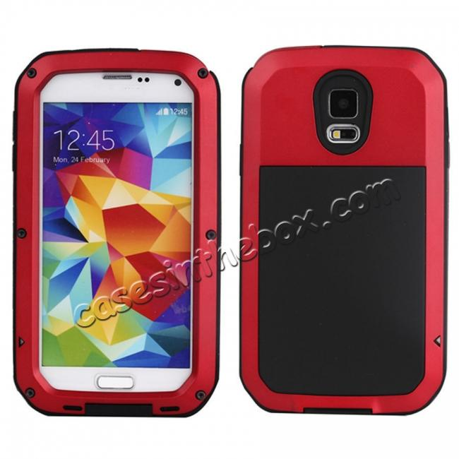 china wholesale Waterproof Aluminum Gorilla Metal Cover Case For Samsung Galaxy S4 S5 S6 S7 S8 S8 Plus Note 3 Note 4 Note 5 Note 8 S9 S9 Plus + FREE SHIPPING